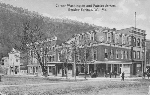 Corner of Fairfax & Washington Streets