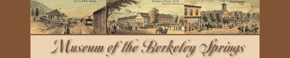 the Museum of the Berkeley Springs